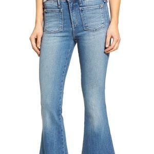 McGuire Valensi Patch Pocket Majorette Crop Jean